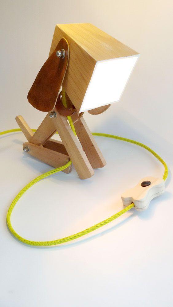 Desk Lamps Association With Natural Lighting Holzlichter Diy Schreibtisch Ideen Diy Holz