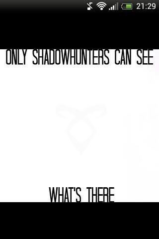 I'm a Shadowhunter!!!!!!!!!!!!!!!!!!!!!!!!!!!!!!!!