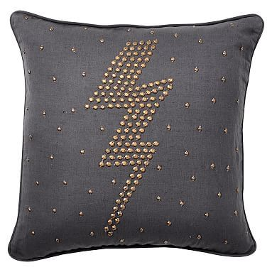 Bling studs pillow cover pbteen home sweet home ideas for my new