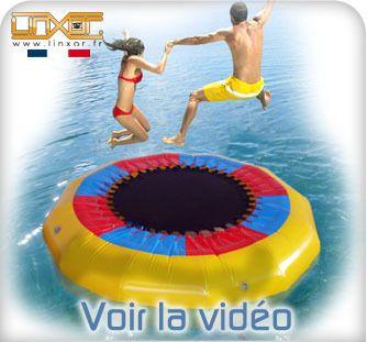 Le trampoline à eau c'est pas mal aussi, il ne manque plus qu'a trouver la piscine #eBay