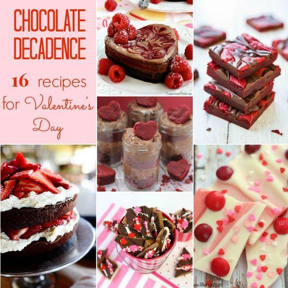 16 DECADENT CHOCOLATE DESSERT RECIPES