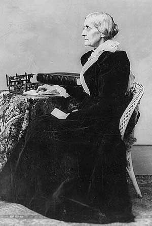 Renowned suffragette & temperance advocate Susan B. Anthony became a vociferous proponent for social reform in the US during the 19th century. (photo: Library of Congress)