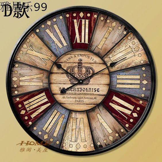 Relojes de pared vintage buscar con google relojes - Reloj pared vintage ...