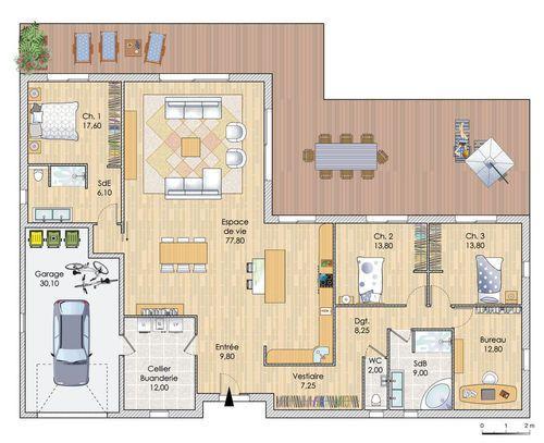 Faire Les Plans De Sa Maison De Plain Pied Maisons Mca 7