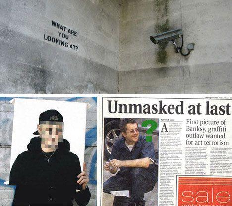Banksy unmasked?   Street Art & Graffiti   Pinterest   Banksy, Banksy ...: www.pinterest.com/pin/81416705734600925