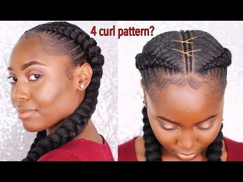 Transform Two Simple Cornrows Into Bold And Unique Styles With Feed In Extensions Hair Styles Feed In Braids Hairstyles Feed In Braid