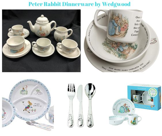 Peter Rabbit Dinnerware by Wedgwood