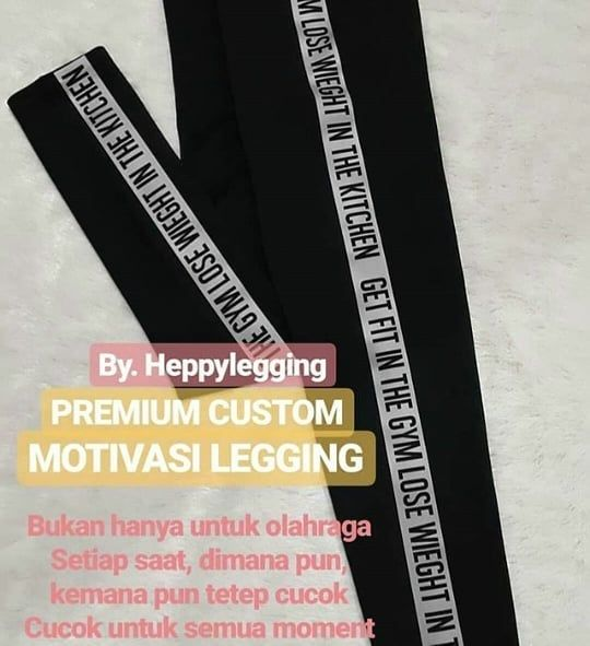 Sport Legging Ready Ukuran All Size Fit To L Xl Xxl 3l 5l Bahan Scuba Strect Tebal Reseller Welcome Terima Ecer Dropship Grosir For Motivasi Olahraga