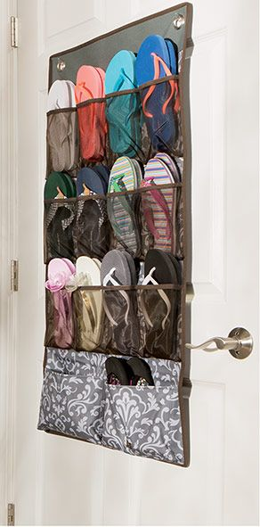 Pinterest the world s catalog of ideas for Flip flop storage ideas