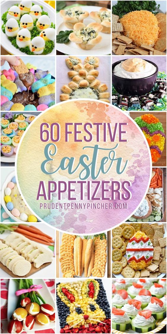 60 Festive Easter Appetizers