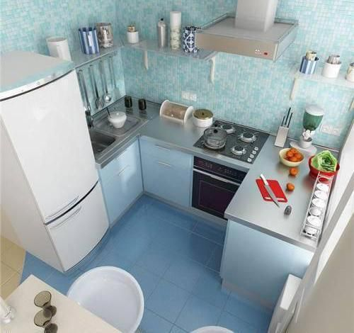 Small Spaces Small Kitchens Space Saving Interior Design Ideas Kitcheninteriordesign Kitchen Design Modern Small House Design Kitchen Tiny House Kitchen