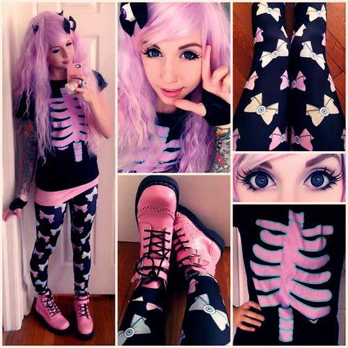 Pastel Goth Fashion: Photo
