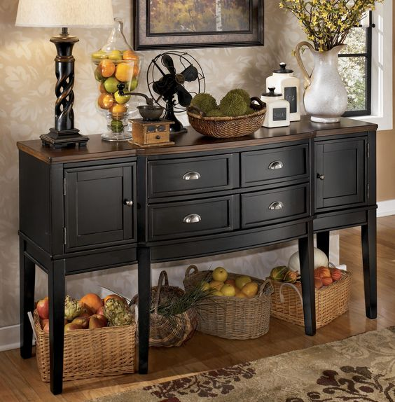 Owingsville Dining Room Server By Signature Design By Ashley Furniture Decor Ideas Pinterest