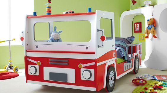 """Feuerwehrbett """"Grischa"""" / Fire department bed"""