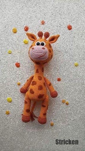 AMIGURUMI ANLEITUNG DEUTSCH häkeln Giraffe Häkelanleitung+ - EUR 5 ... | 512x290
