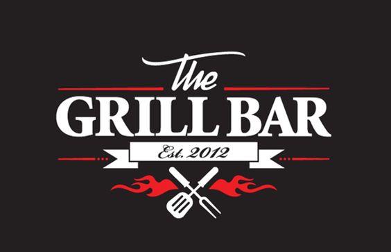 The Grill Bar - logo identity