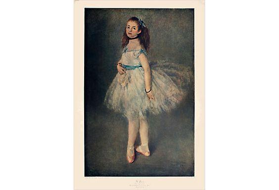 {The Dancer} Renoir. adore.