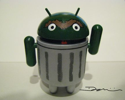 Android the Grouch