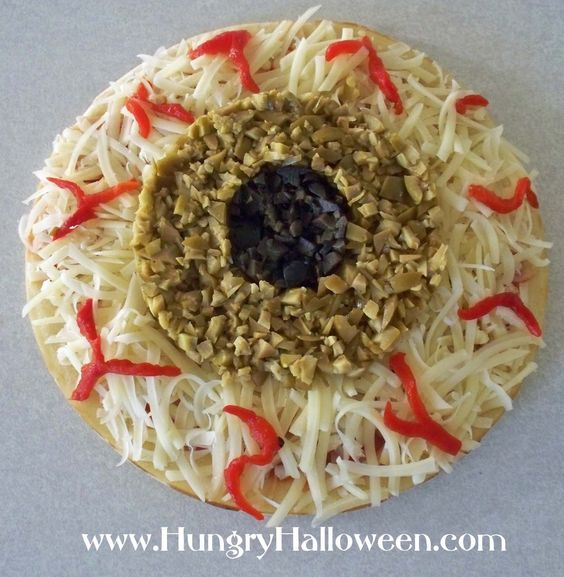 Serve appet-EYE-sers (eye shaped snacks) this Halloween. - Hungry Happenings