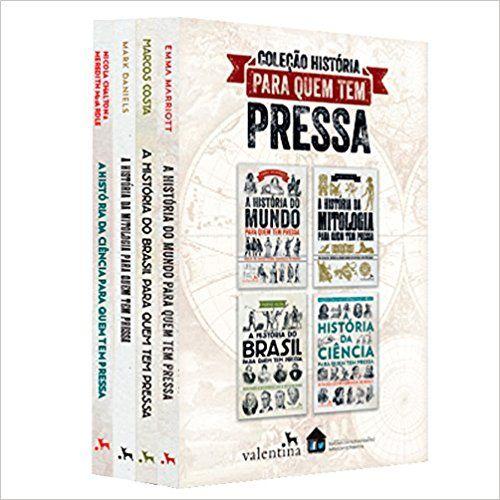 Colecao Historia Para Quem Tem Pressa 9788558890496 Livros Na