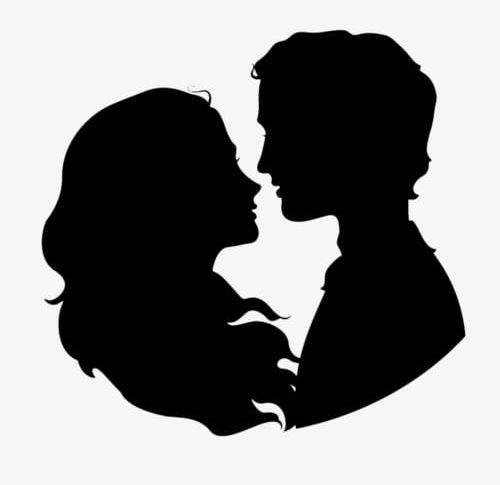 Couple Silhouette Png Black Black Silhouette Conjugal Conjugal Love Couple Clipart Couple Silhouette Silhouette Painting Man And Woman Silhouette