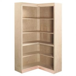 Traditional L-shaped Corner Bookcase  For the Home  Pinterest ...
