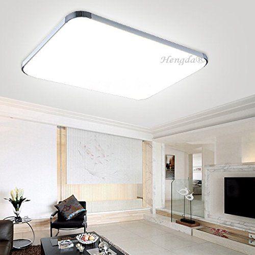 48W LED Deckenleuchte Wohnzimmerlampe Deckenlampe Wandleuchte Innenleuchte