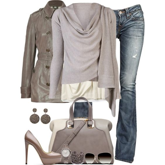 grey for fall...