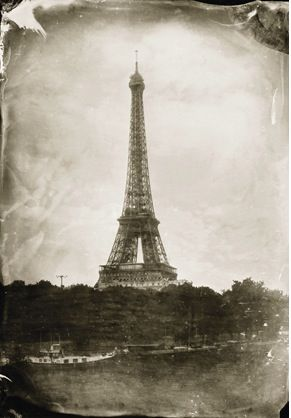 Keliy Anderson-Staley  The Eiffel Tower.    It looks antique but it is not, maybe that is why I like it so much.