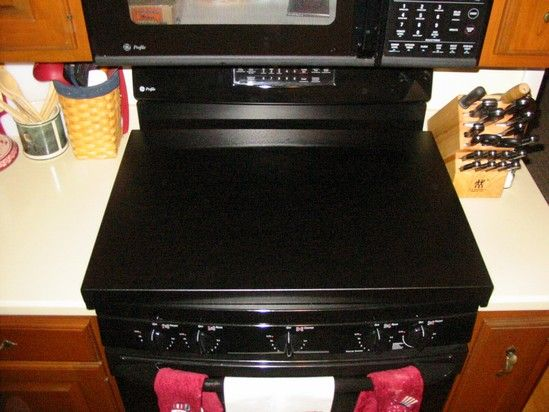 Countertop Glass Stove Top : ... protect the glass top from being used as counter top when not cooking
