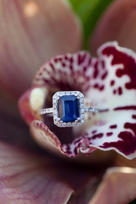 Gorgeous Sapphire Wedding Ring