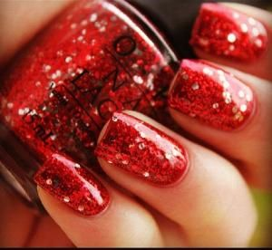 OPI Nail Lacquer Muppets Collection, Gettin' Miss Piggy With It... normally I don't like red but I love this