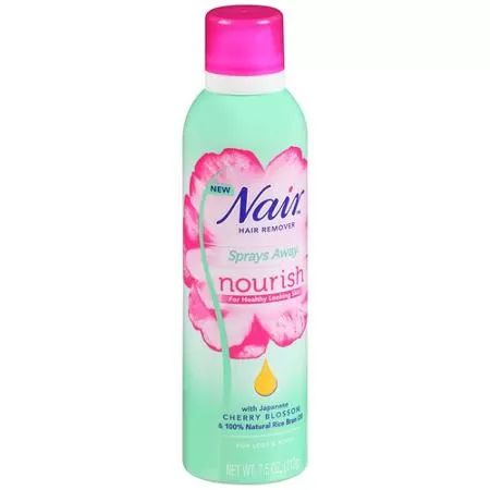 Nair Sprays Away Nourish Hair Remover, 7.5 oz