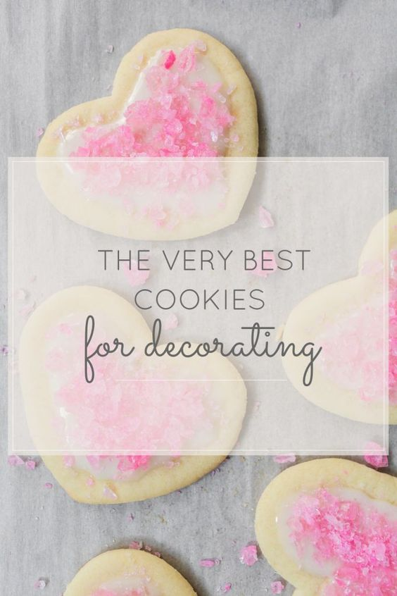 The Best Sugar Cookies For Decorating | valentine's day sweets | heart shaped cookies | valentine's day recipes || Glitter, Inc.