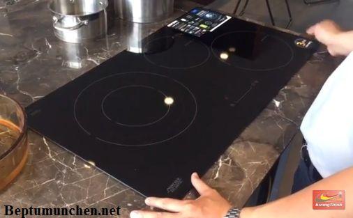 Một số tính năng trên bếp điện từ Munchen GM 6318