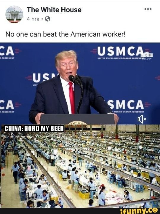 No One Can Beat The American Worker Ifunny Memes Funny Mems Funny Memes