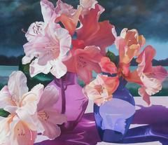 Harlequin Lilies by Hilary Eddy, 2003