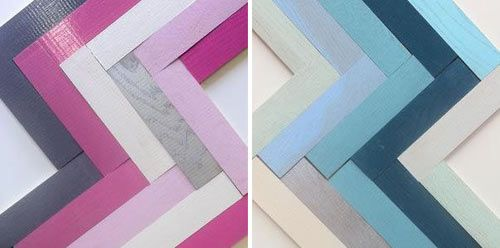 Colored Parquet Collection by McKay Flooring