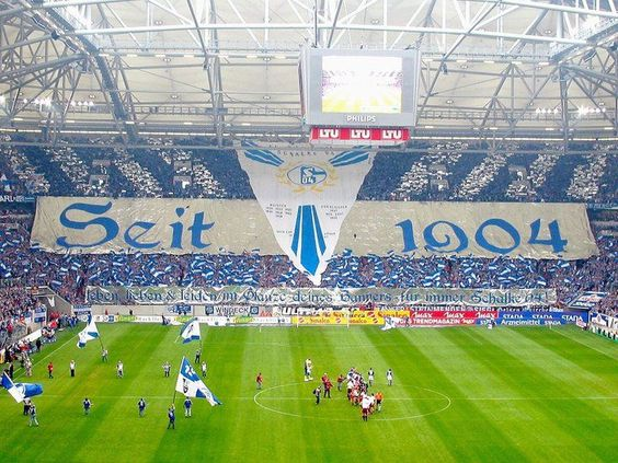 Arena auf Schalke!