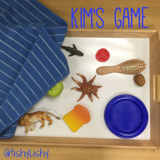 Phonic challenge - Kim's Game. Remember it from your childhood?? Second memory game I've set up this term.