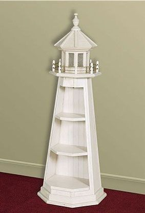 Wooden Lighthouse Shelf Ww Projects And Plans