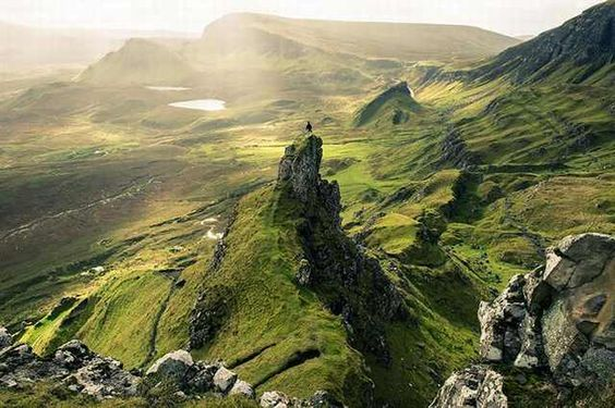 These Photos are a Testament to the Glory of Nature: Quiraing landslip, Skye,Scotland