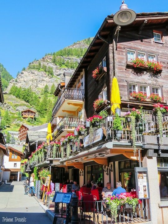 This cute alpine resort town is a must-see on a trip to Switzerland.  Whether you visit in sum… | Zermatt switzerland, Zermatt switzerland  winter, Switzerland travel
