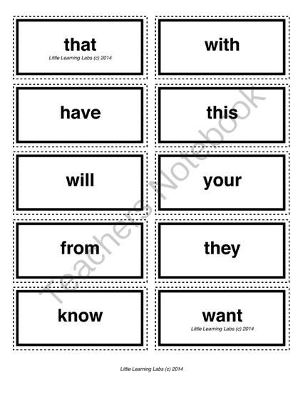 enter letters to make words 4 letter sight words cards for kindergarten and primary 21524