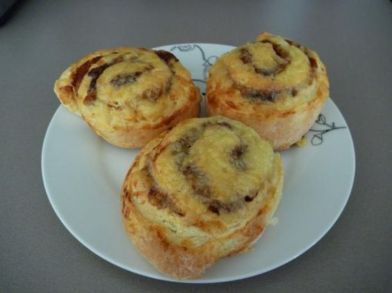 Cheese and Vegemite Scrolls from Food.com: From Kraft Foods. I used to buy these from the bakery but now I don't have to, they're so easy to make. Posted for ZWT III.