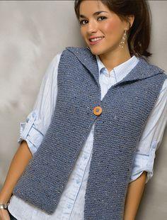 Chic Woman Vest