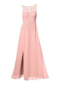 Ashley Brooke ASHLEY BROOKE EVENT Spitzenkleid Abendkleid Ballkleid Kleid Rosa | SOOLIA