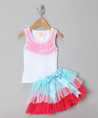 Ruffles and tulle... what more could a girl want?!