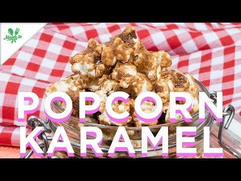 Resep Popcorn Karamel Youtube Cemilan
