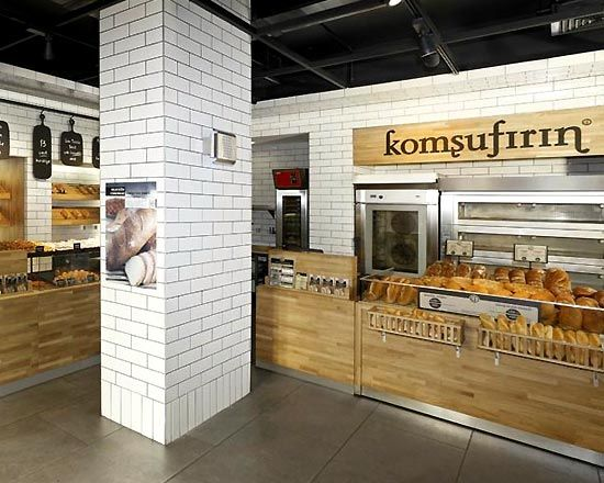Traditional shops and architecture on pinterest for Bakery shop interior decoration